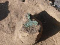 Подвеска из погребения 8 - 9 веков. Крохалёвка-13