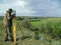 Геодезическая съёмка на объекте археологического наследия Вознесенское городище